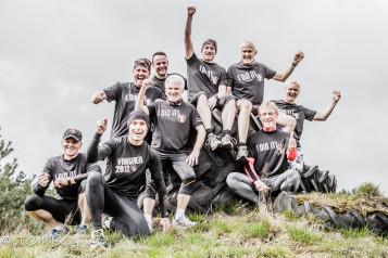 Lauftreff Gnadenlos trainiert für den Strongmen Run 2014