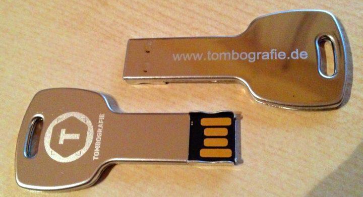 USB-Sticks von Flashbay in Schlüsselform